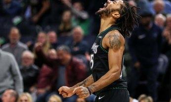 USP NBA: UTAH JAZZ AT MINNESOTA TIMBERWOLVES S BKN MIN UTA USA MN
